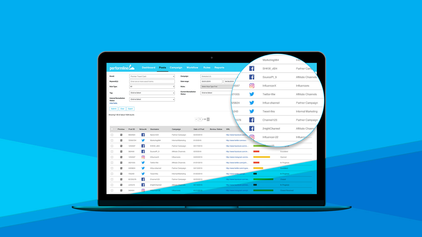 PerformLine Launches Social Media Monitoring
