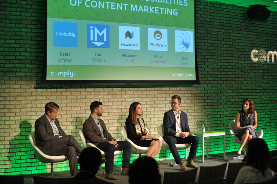 The Perils and Possibilities of Content Marketing [COMPLY2016 Rewind]